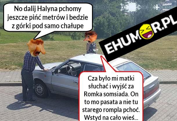 Janusze i problem z autem - LOLS.PL - Humor, Demotywatory